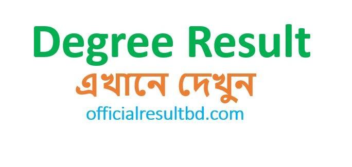 All Result BD Degree Result 2019