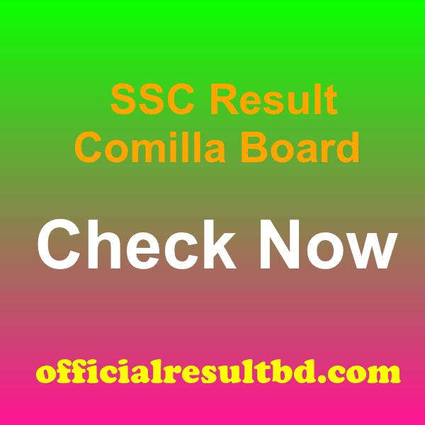 SSC Result 2020 Comilla Board Marksheet & Number