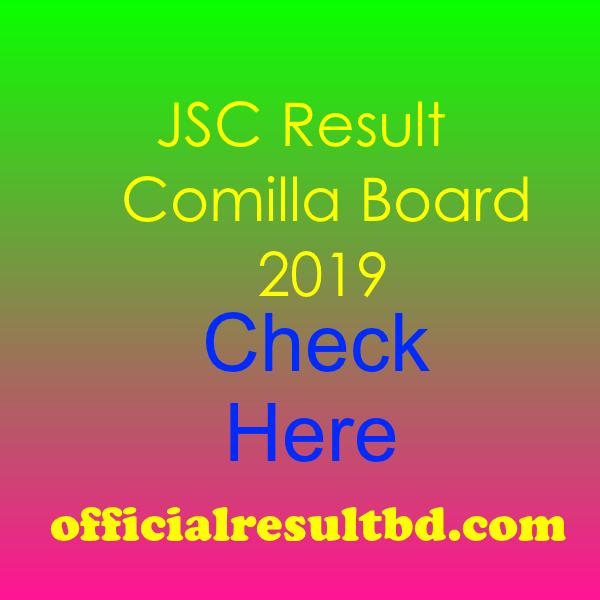 JSC Result Comilla Board 2019