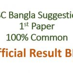 SSC Bangla 1st Paper Suggestion 2020 PDF All Board