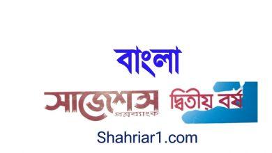 Degree 2nd Year Bangla Suggestion 2021 PDF বাংলা জাতীয় ভাষা